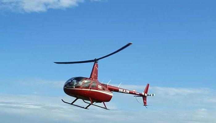 Woman rescued by helicopter for post-partum complications