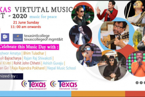 """Virtual Texas Musical Fest 2020 on the Occassion of """"World Music Day"""""""