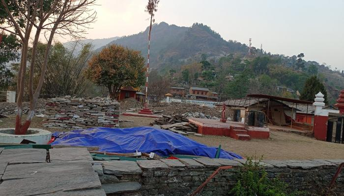 300-year antique Kot temple renovated