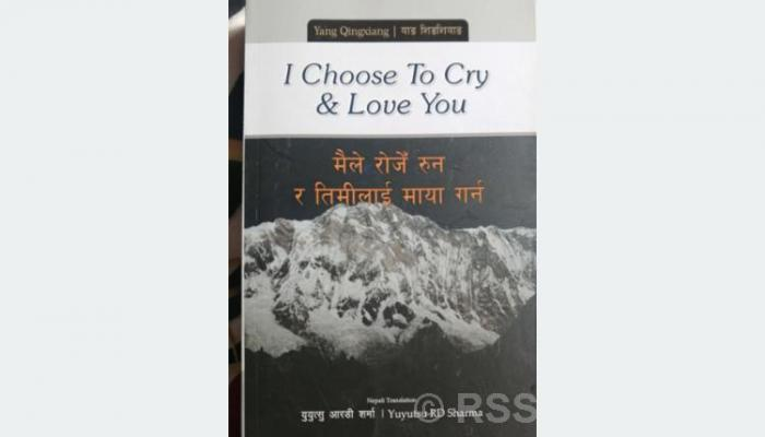 'I chose to cry and love you' poetry published