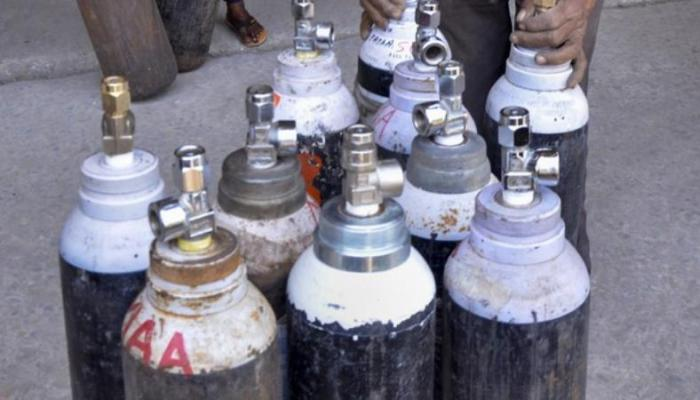 15 cylinders of oxygen provided to health facilities