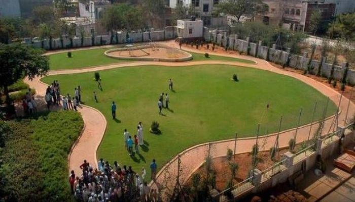 Parks constructed to promote greenery in urban areas