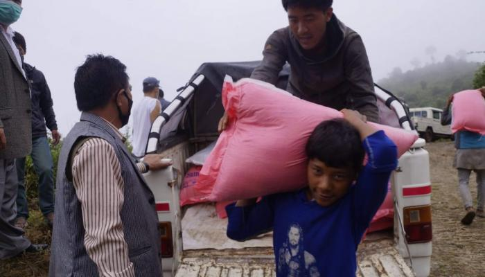 Relief assistance to Musahar people affected by COVID-19 crisis